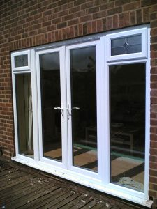 Patio French Doors in White UPVC